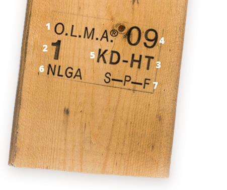 Grading OLMA Ontario Lumber Manufacturers Agency